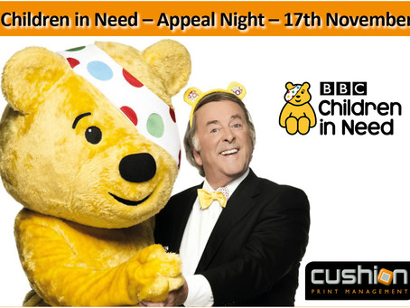 Children in Need - Appeal Night - 17th November