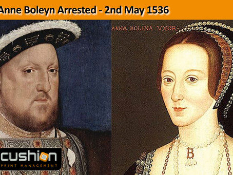 Anne Boleyn Arrested – 2nd May 1536