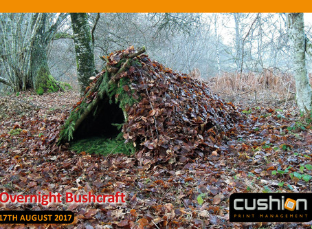 Overnight Bushcraft at Sherwood Pines – 17th August