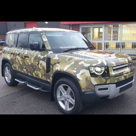 Make your vehicle stand out with our bespoke vehicle wraps