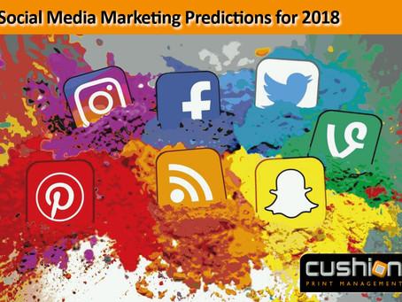 Social Media Marketing Predictions 2018