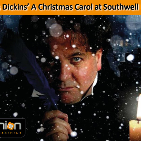 Charles Dickins' A Christmas Carol at Southwell Minster – 22nd November