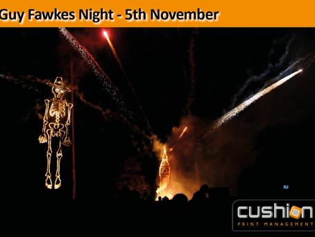 Guy Fawkes Night – 5th November
