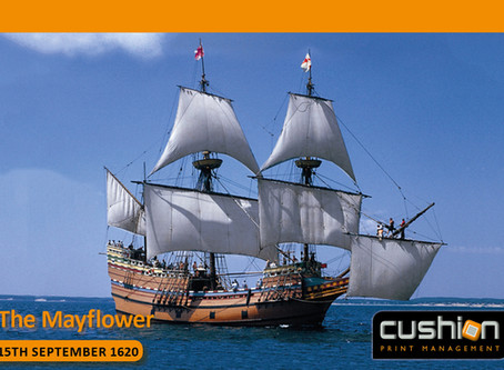 The Mayflower Sets Sail – 15th September 1620...