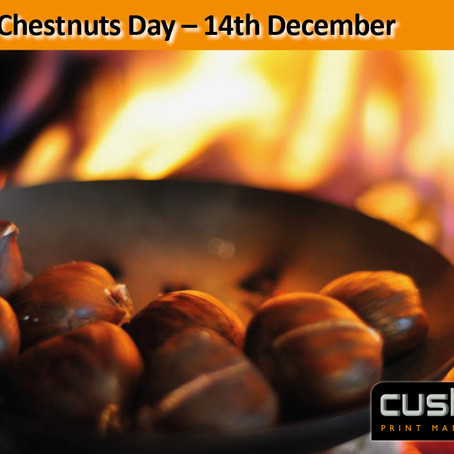 Roast Chestnuts Day – 14th December