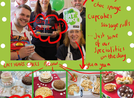 It's Official. We Are Doing Macmillan Coffee Morning Again. Friday 28th September 2018.