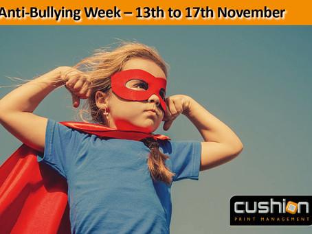 Anti-Bullying Week – 13th to 17th November