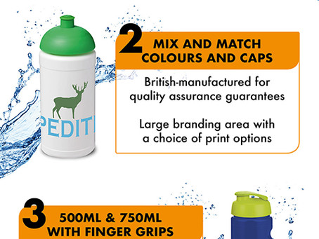 7 Features About Branded Drinking Water Bottles