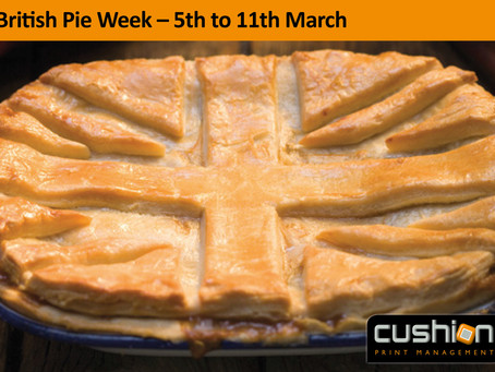 British Pie Week – 5th to 11th March
