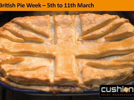 British Pie Week – 5th to 11th March