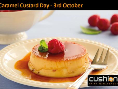 Caramel Custard Day – 3rd October