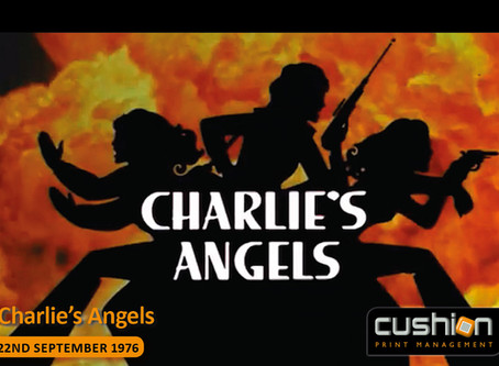 First episode of Charlie's Angels – 22nd September 1976