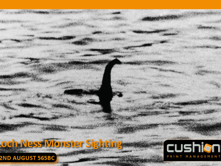 First reported sighting of the Loch Ness Monster – 22nd August 565BC