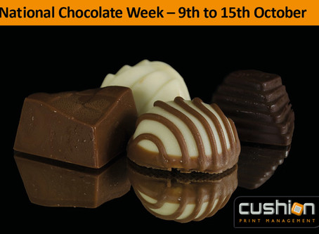Chocolate Week - 9th to 15th October