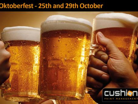 Nottingham Oktoberfest – 25th to 29th October