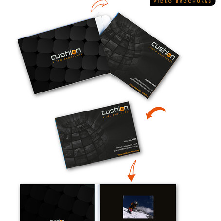 "New 3"" A6 Video Brochure..."