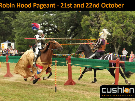 Robin Hood Pageant – 21st and 22nd October