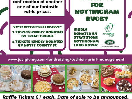 Win 2 x Nottingham Rugby Tickets Kindly Donated By Stratstone Nottingham Land Rover For Our Macmilla