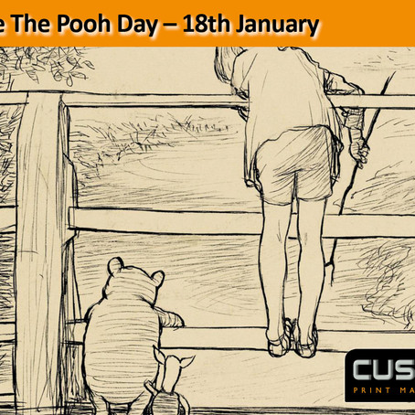 Winnie The Pooh Day – 18th January
