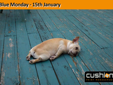 Blue Monday – 15th January