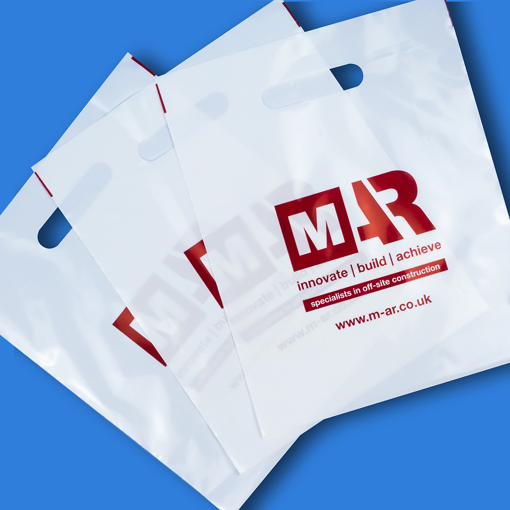 Branded carrier bags give your packaging a more professional look. They are an essential tool to promote your business.