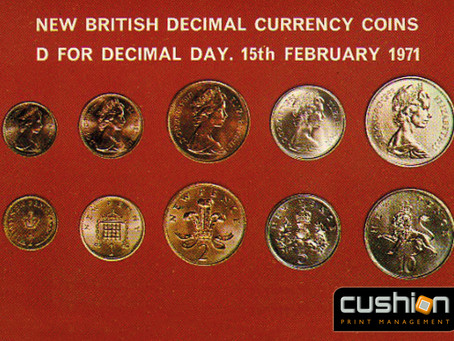 Decimal Day delivers new UK Currency – 15th February 1971
