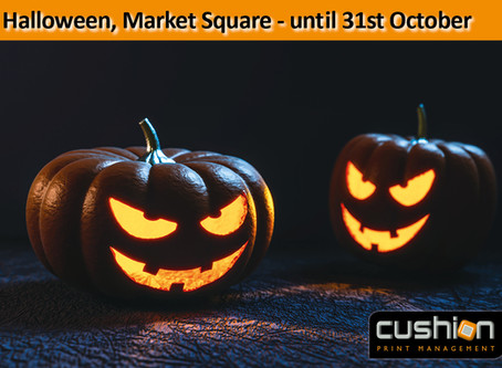 Halloween in the Market Square, Nottingham - until Tuesday 31st October