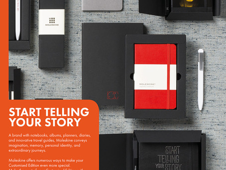 Start Telling Your Story With Moleskine Notepads
