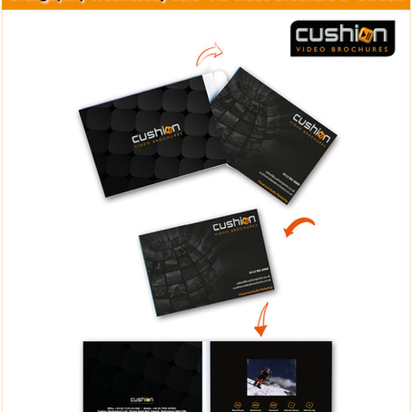 "Orange(ish) Wednesday Sale - A6 Video Brochure 3"" Screen"