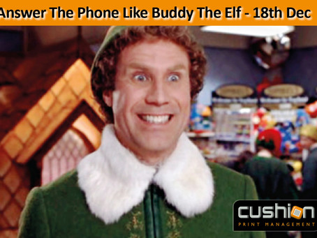 Answer The Phone Like Buddy The Elf - 18th December