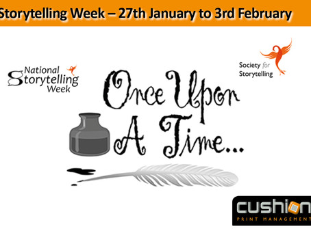 National Storytelling Week – 27th January to 3rd February