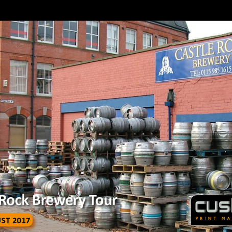 Castle Rock Brewery Tour Nottingham – Tuesday 29th August