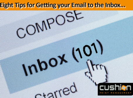 Oh, the irony of the e-shot I have just sent!!! - Eight Tips for Getting your Email to the Inbox...