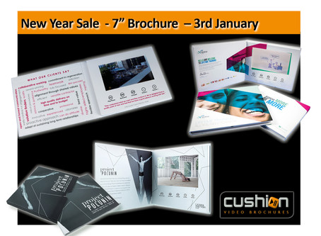 "New Year Sale - 7"" Screen Express Video Brochure - 3rd January..."