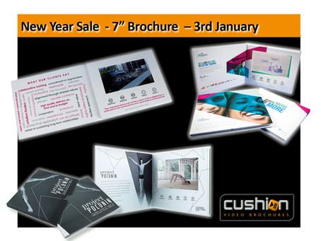 """New Year Sale - 7"""" Screen Express Video Brochure - 3rd January..."""