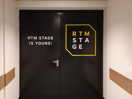 RTM Stage is yours