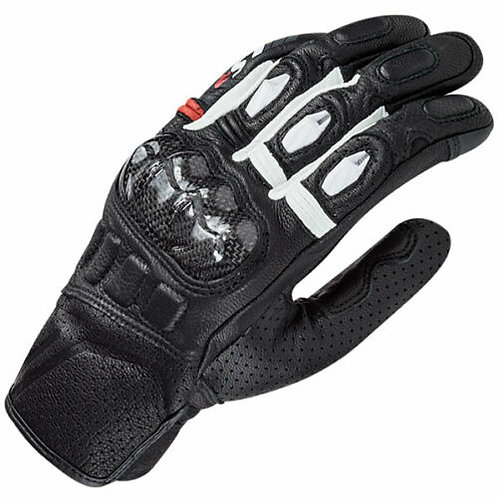 LS2 Spark Gloves Black & White
