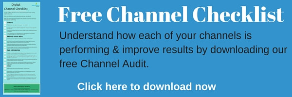 Download our free digital channel checklist