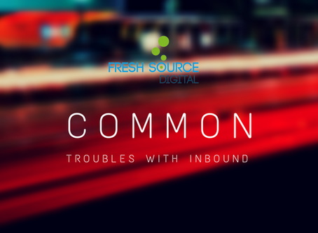 Common Weak Spots of the Inbound Process