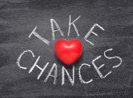 Taking Chances Can Lead To Great Careers
