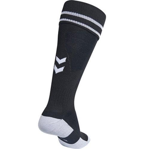 204046 ELEMENT FOOTBALL SOCK (Sockenstutzen, schwarz)