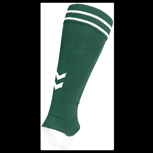 203404 ELEMENT FOOTBALL SOCK FOOTLESS (Stegstutzen, grün)