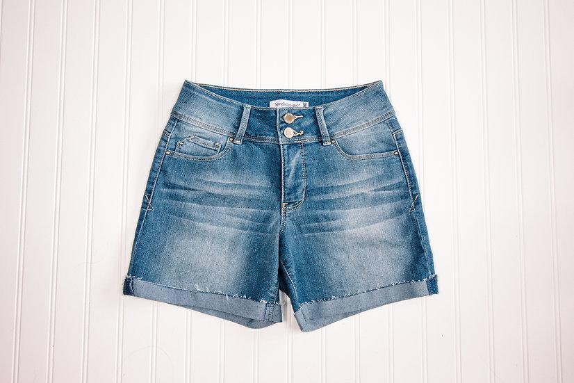 YMI 2 Button Cuffed Shorts
