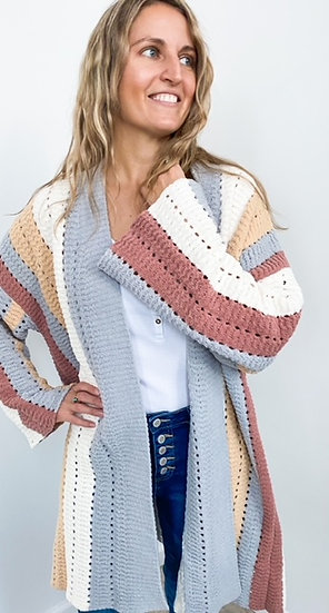 POL Knitted Open Cardigan