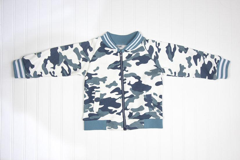 Varsity Camo Jacket