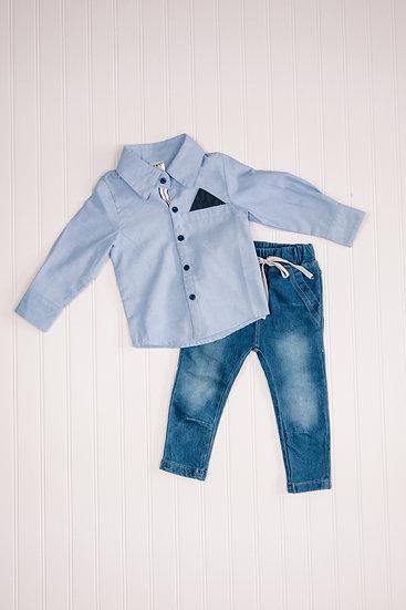 Little Boy Blues 2 Pc Set