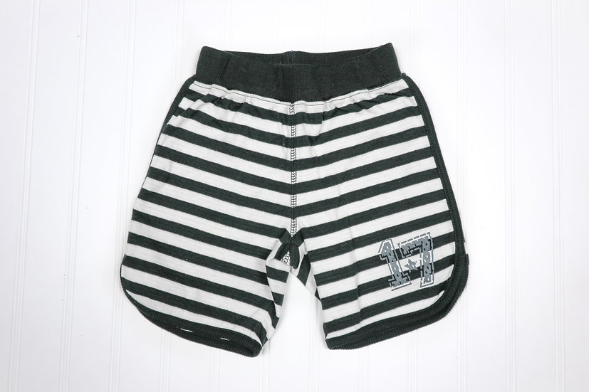 Striped Varsity Pull-on Shorts