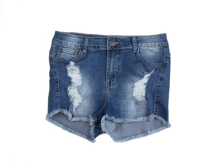 Women's Raw Hem Shorts