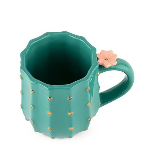 Pinky Up Cactus Mug