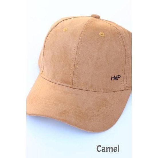 Camel Velvet Cap